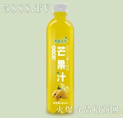 果园王子芒果汁果汁饮料480毫升
