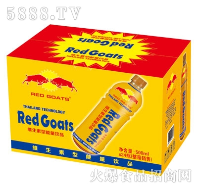 RedGoats维生素型能量饮品500mlX24