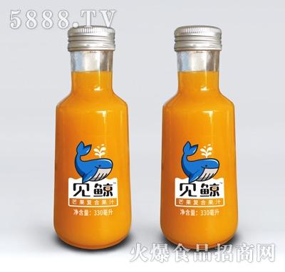 见鲸芒果复合果汁饮料330ml