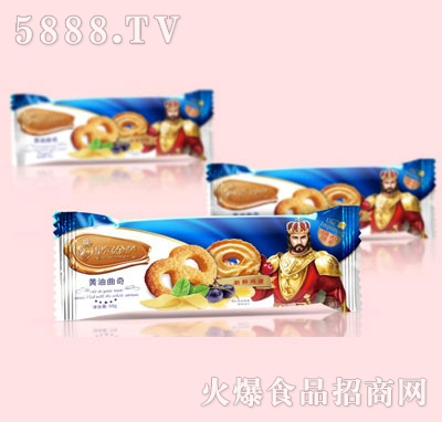 皇冠金萨黄油曲奇50g