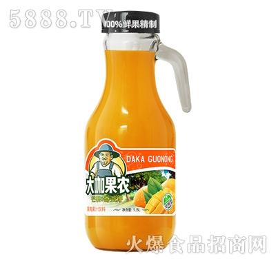 大咖果农芒果果肉果汁饮料1.5L