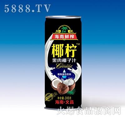 椰柠果肉椰子汁245克