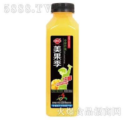 修花美果季冷榨芒果果汁饮料500ml