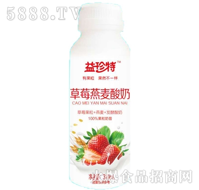 益珍特草莓燕麦酸奶310ml