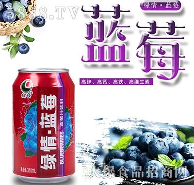 八星食品绿情蓝莓汁300ml