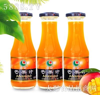 八星食品绿情芒果汁果汁