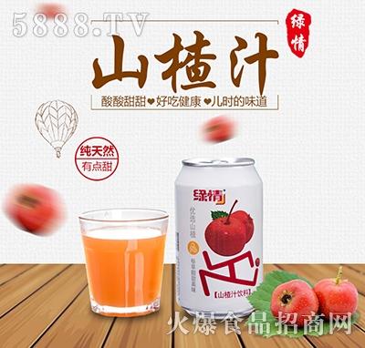 八星食品绿情山楂汁饮料