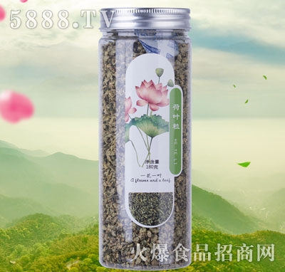 一花一叶荷叶粒花茶产品图