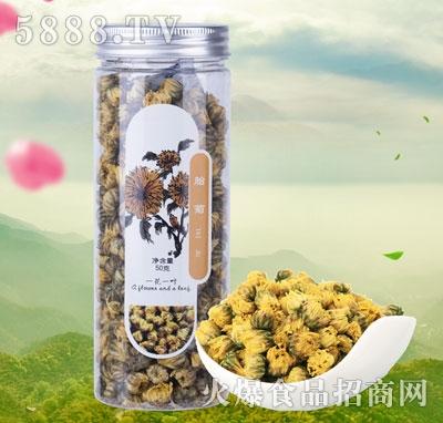 一花一叶胎菊花茶产品图