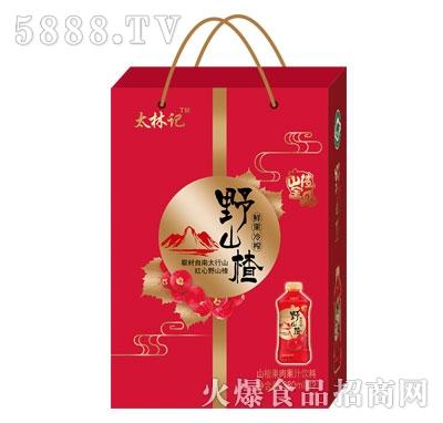 太林记山楂果肉果汁饮料380mlX12