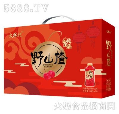 太林记山楂果肉果汁饮料380mlX18