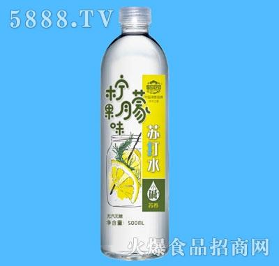 鹤园柠檬果味苏打水