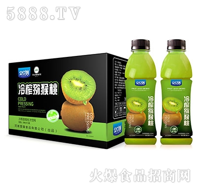 众口妙冷榨猕猴桃汁饮料550mlX15