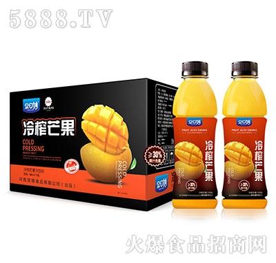 �口妙冷榨芒果汁�料550mlX15