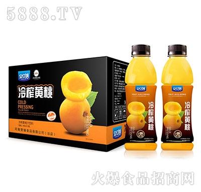 众口妙冷榨黄桃汁饮料550mlX15