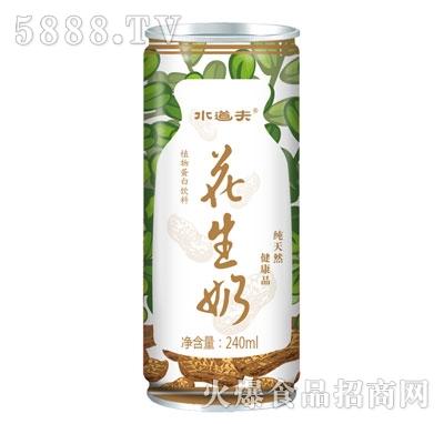 水道夫花生奶植物蛋白饮料