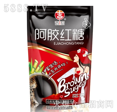 吉方阿胶红糖320克产品图