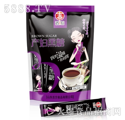 吉方产妇黑糖338克