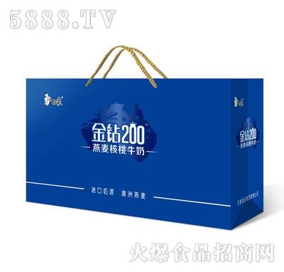 白象金钻200燕麦核桃牛奶(袋)