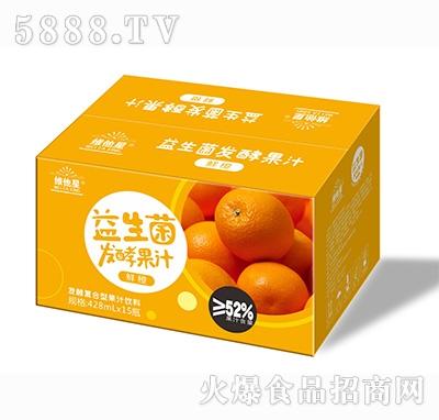 维他星益生菌鲜橙发酵果汁饮料428mlx15瓶
