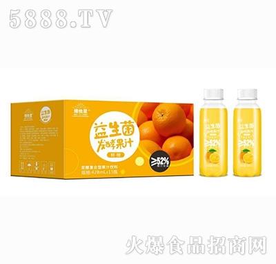 维他星益生菌鲜橙发酵果汁饮料428mlx15瓶+瓶子