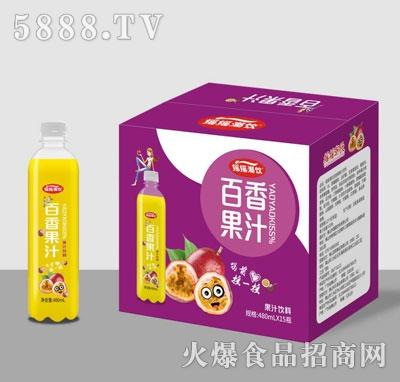 摇摇潮饮百香果汁480mlX15