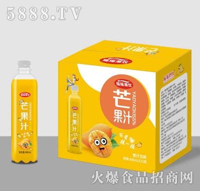 摇摇潮饮芒果汁480mlX15