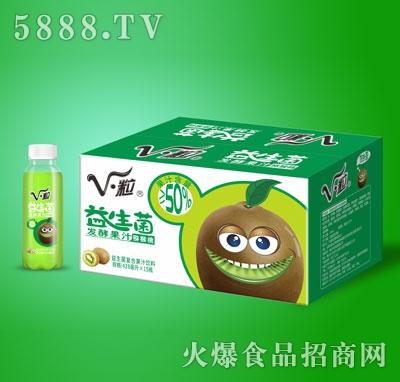 V・粒益生菌发酵猕猴桃果汁428mlX15