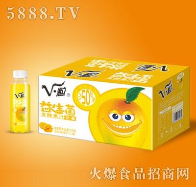 V・粒益生菌发酵芒果果汁428mlX15