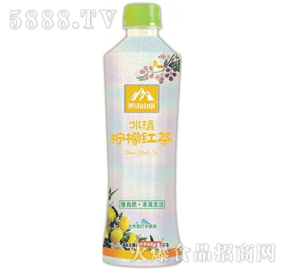 茶语山泉透明果茶水柠檬红茶530ml产品图