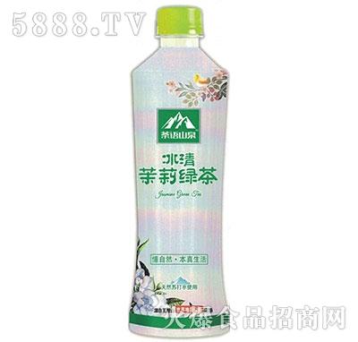 茶语山泉透明果茶水茉莉绿茶530ml产品图