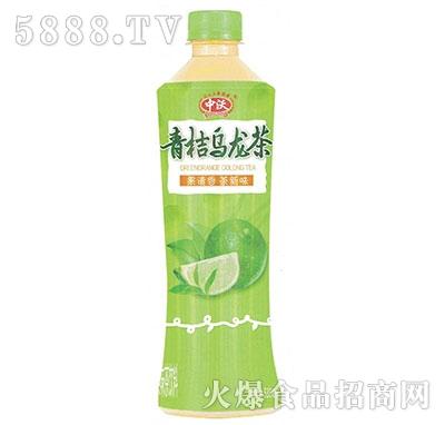 中沃果味茶青桔乌龙茶530ml产品图