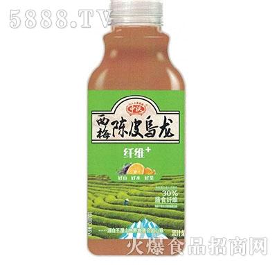 中沃果汁茶陈皮乌龙500ml