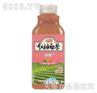 中沃果汁茶红柚白茶500ml