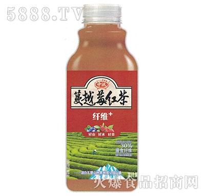 中沃果汁茶蔓越莓红茶500ml