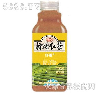 中沃果汁茶柠檬红茶500ml
