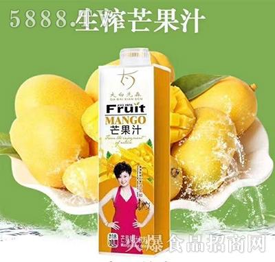 大白先森芒果汁1L