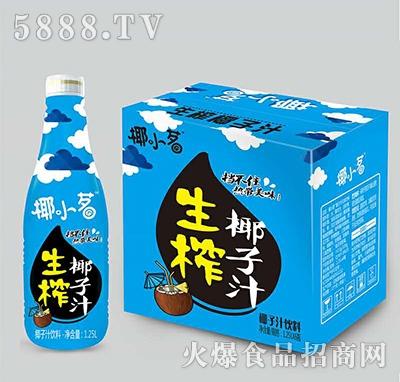 椰小茗生榨椰子汁1.25Lx6瓶装