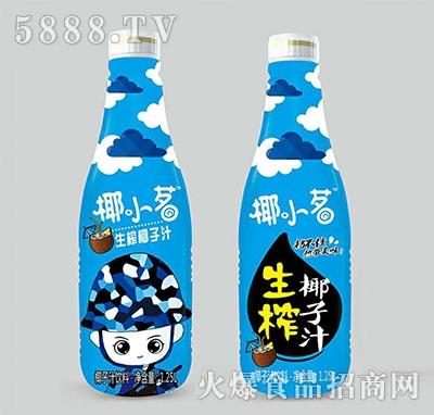 椰小茗生榨椰子汁饮料1.25L产品图