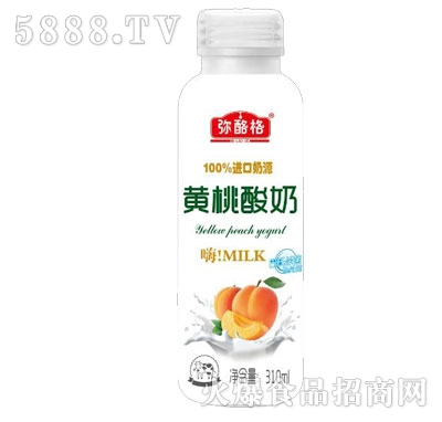 弥酪格黄桃酸奶310ml产品图