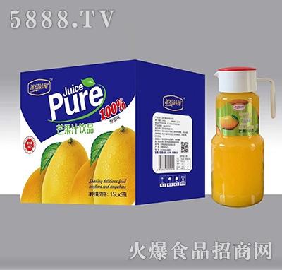 冰纷清纯芒果汁饮料1.5Lx6瓶