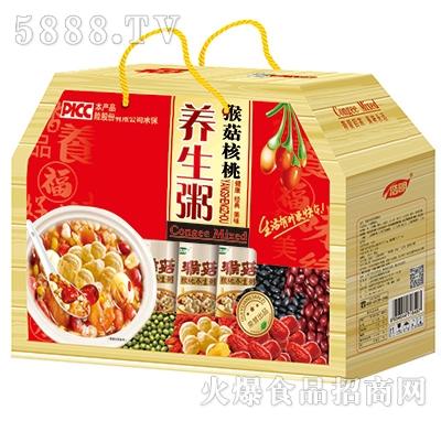 浩明猴菇核桃养生粥礼盒手提