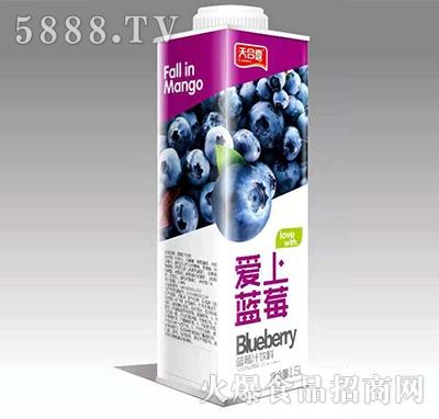 天合露爱上蓝莓蓝莓汁1Lx6
