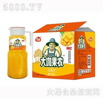 大咖果农芒果果汁饮料1.5Lx6瓶