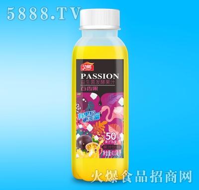 动鹏益生菌发酵百香果汁410ml