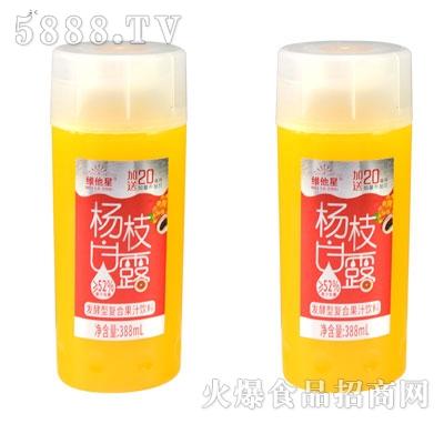 维他星杨枝甘露发酵型复合果汁饮料388ml(杯)