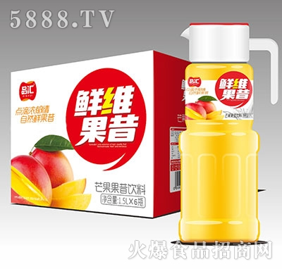 品汇鲜维芒果果昔饮料1.5Lx6