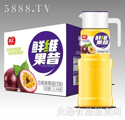 品汇鲜维百香果果昔饮料1.5Lx6