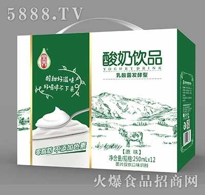 宜养酸奶饮品乳酸菌发酵型250ml×12