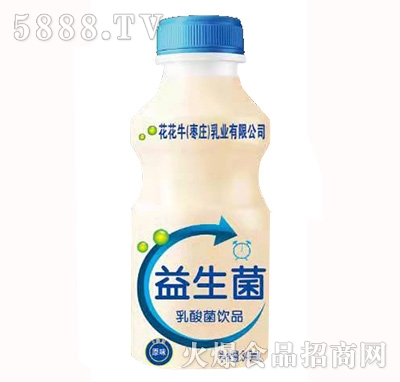 萌小豪花花牛益生菌乳酸菌饮品340ml原味